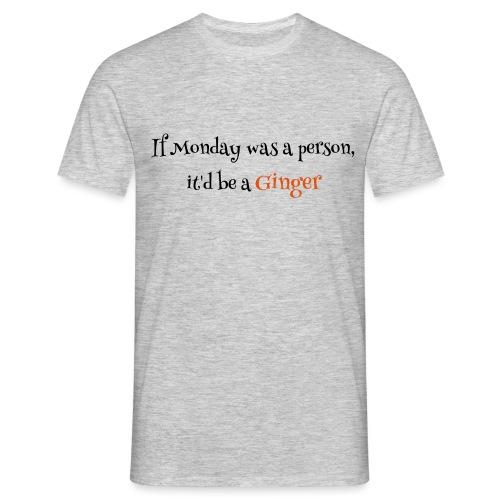 ginger1 - Miesten t-paita