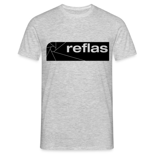 Reflas Clothing Black/Gray - Maglietta da uomo