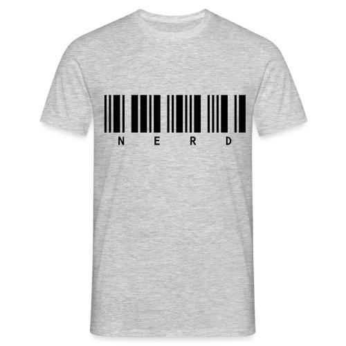 NERD-Barcode - Men's T-Shirt