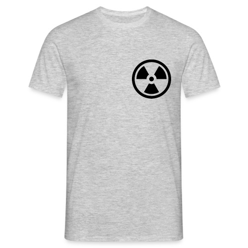 military bomb nuclear danger bomb radioactive - Men's T-Shirt