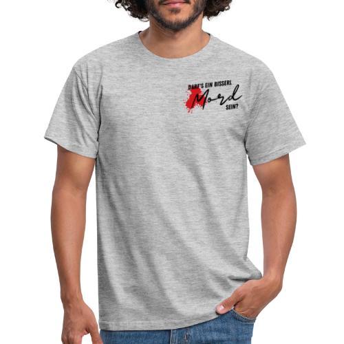 DEBMS Logo schwarz - Männer T-Shirt