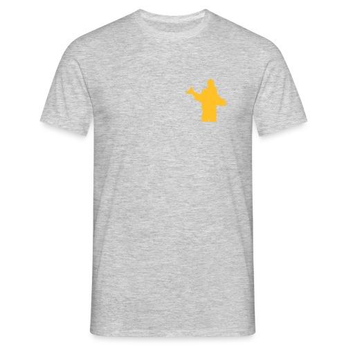 posering med laks - T-skjorte for menn