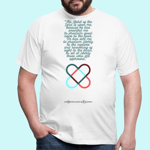 freehearts scripture - Männer T-Shirt