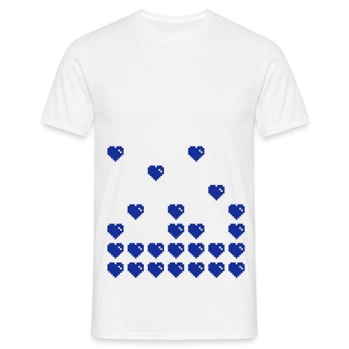 ibisdesigns pixelheart1 vec - Men's T-Shirt