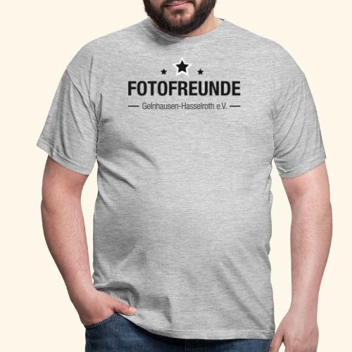 Wortmarke (schwarz) - Männer T-Shirt