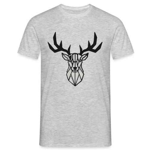 Cerf - Hirsch - Deer - T-shirt Homme