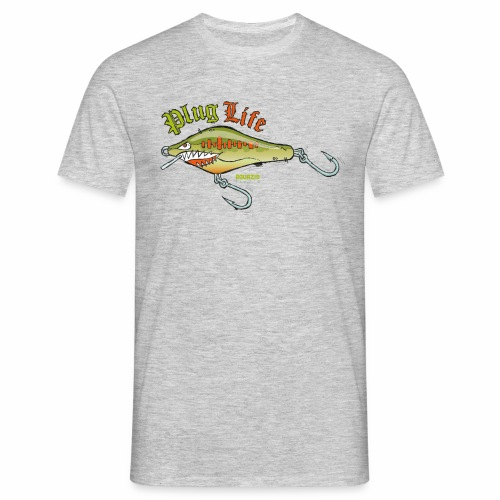'Plug Life Balsa Lure - Men's T-Shirt