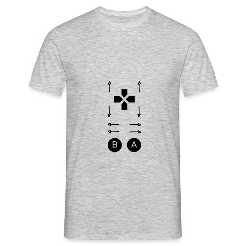 Konami Code - Männer T-Shirt