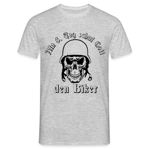 8 Tag Biker - Männer T-Shirt