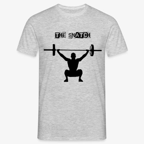 THE SNATCH BLACK - Mannen T-shirt