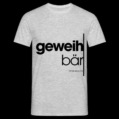 geweihbär 2019 - Männer T-Shirt