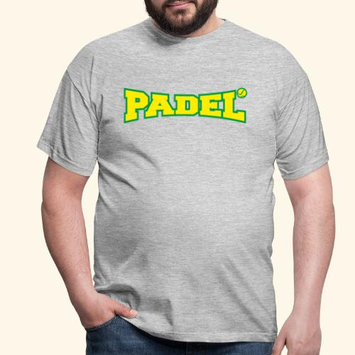 padel amarillo y verde - Camiseta hombre