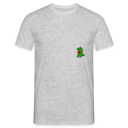 dino heart merch - T-shirt herr