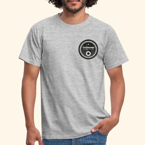 Logo Fotofreunde - Männer T-Shirt