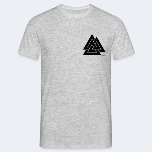 valknut noir - T-shirt Homme
