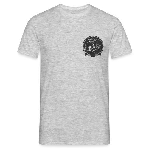 R Logo Papa Gruppe - Männer T-Shirt