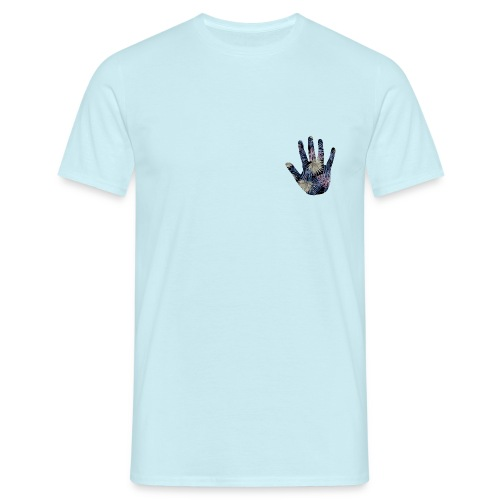 Exotic Flower Hand - Herre-T-shirt