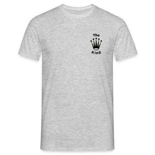 krone schwarz - Männer T-Shirt