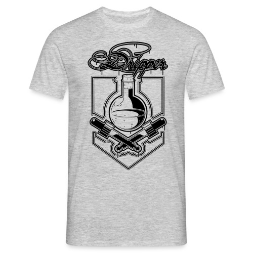 dripper schwarz - Männer T-Shirt