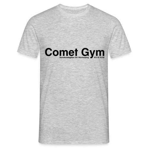 cometgym logga - T-shirt herr