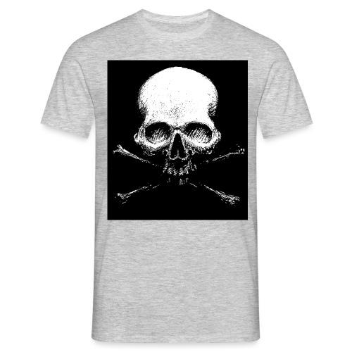 Dark Skull - Maglietta da uomo
