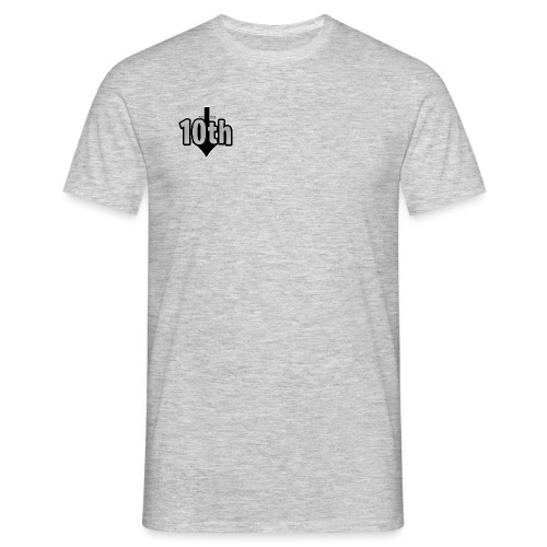 10th Normal Logo - Männer T-Shirt