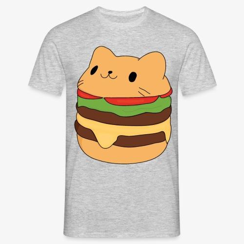 cat burger - Men's T-Shirt