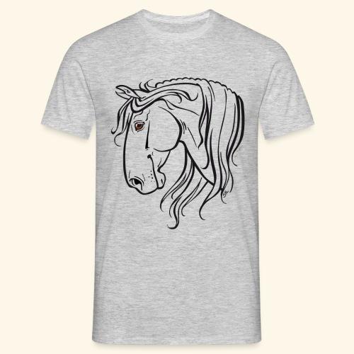 Cheval espagnol (noir) - T-shirt Homme