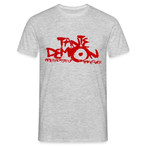 tante demon neu rot - Männer T-Shirt