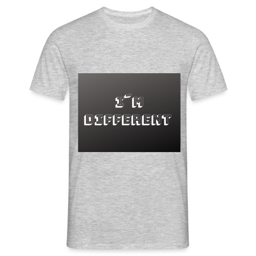 yo soy diferente - Camiseta hombre