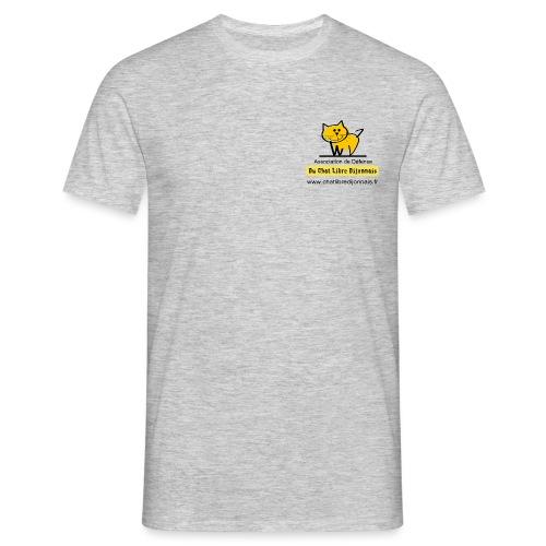 Transparent avec Logo - T-shirt Homme
