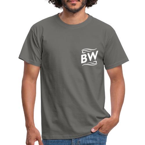 White BW logo - T-shirt herr