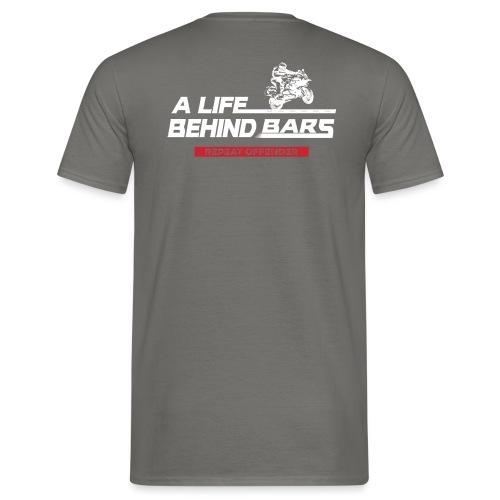 ABT White Graphic - Men's T-Shirt
