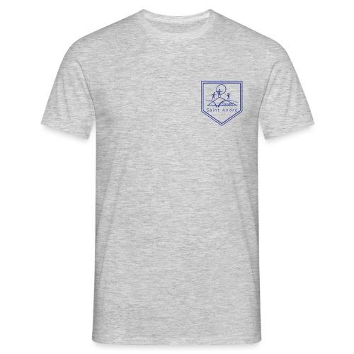 Blason bleu - T-shirt Homme