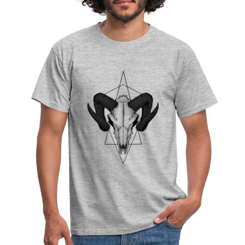 Tierschädel Shirt - Männer T-Shirt