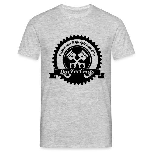 DuePerCento Logo Nero - Maglietta da uomo