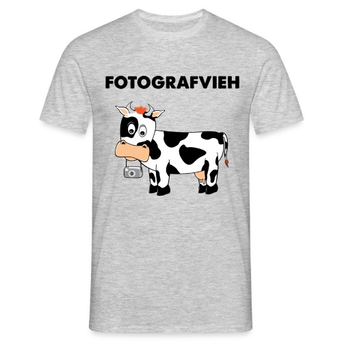 Fotografvieh - Männer T-Shirt