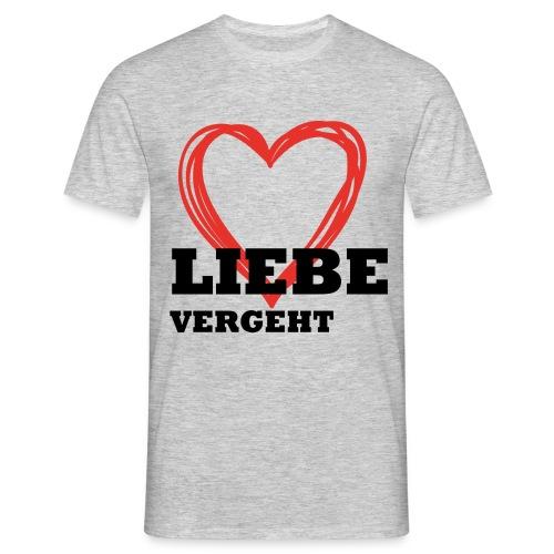 Liebe_einzeln - Männer T-Shirt
