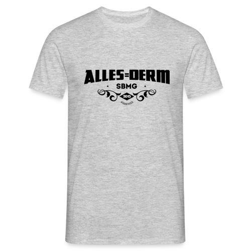 Alles Derm ZWART MDK png - Mannen T-shirt
