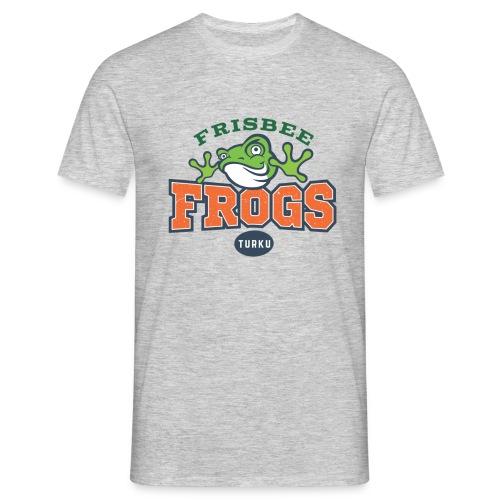 Frisbee Frogs Sammakko - Miesten t-paita