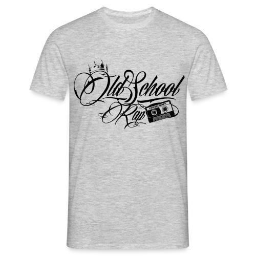 Old School black - Männer T-Shirt