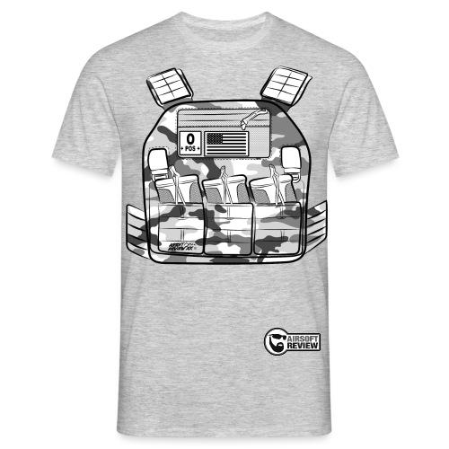 plate carrier 2 DOS SEUL - T-shirt Homme