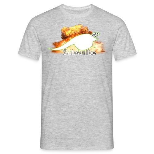 Subcribe.plz - T-skjorte for menn