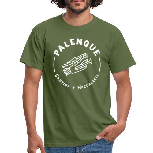 Palenque Logo Snake Head Blanc - T-shirt Homme