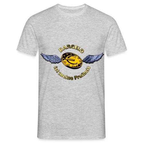Bargeld - Männer T-Shirt