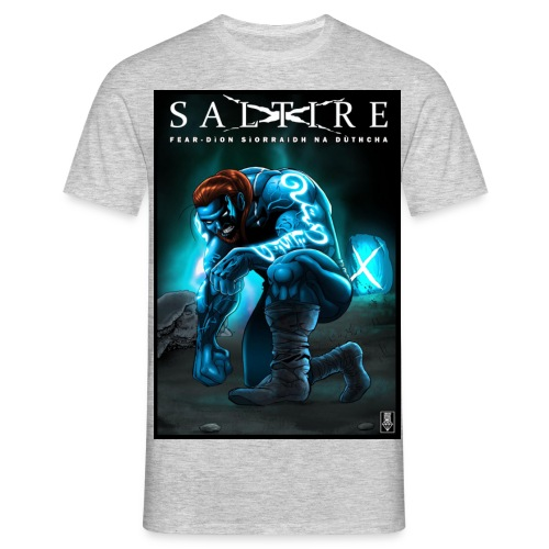 Saltire Invasion Gaelic - Men's T-Shirt