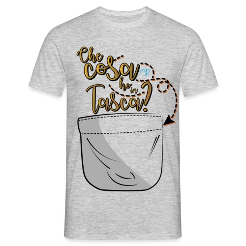 Che cosa ho in tasca-09 - Maglietta da uomo