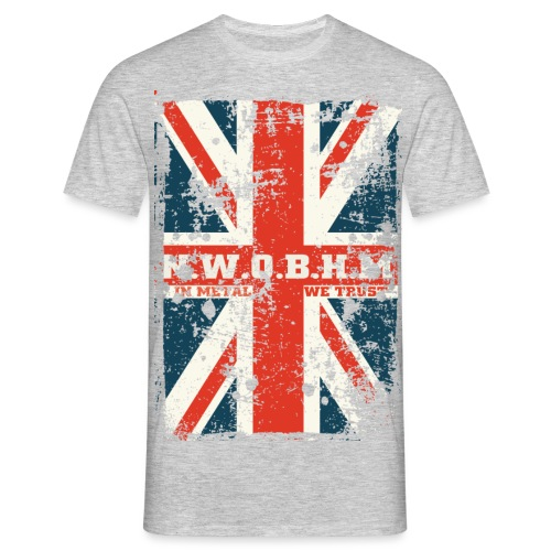 nwbhm Gendannet png - Herre-T-shirt