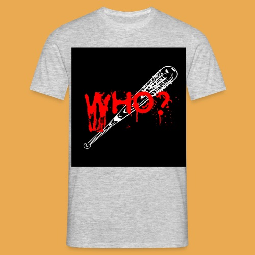 Lucille black jpg - Männer T-Shirt