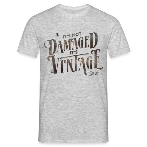 fraulux vintage dunkel - Männer T-Shirt